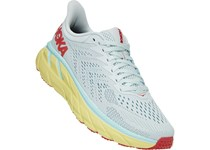 HOKA ONE ONE CLIFTON 7 WOMAN MIST/HOT CORAL