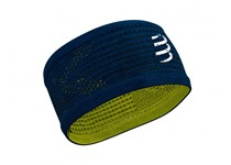 COMPRESSPORT HEADBAND ON/OFF BLUE-LIME 2020