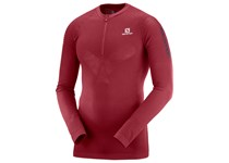 Salomon EXO MOTION HZ LS TEE M BIKING RED