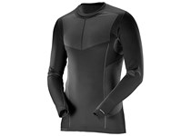 Salomon PRIMO WARM SEAMLESS TEE M BLACK