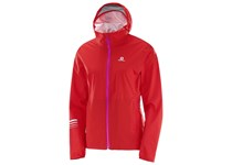 Salomon LIGHTNING WP JKT W FLAME SCARLET