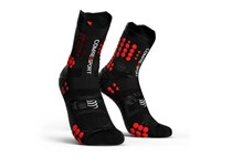 COMPRESSPORT PRORACING SOCKS V3.0 TRAIL BLACK/RED