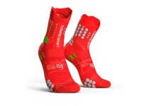COMPRESSPORT PRORACING SOCKS V3.0 TRAIL RED