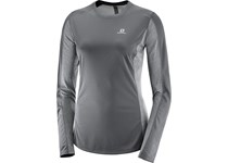 Salomon AGILE LS TEE W FORGED IRON