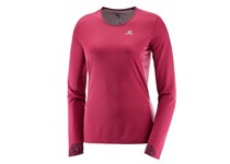 Salomon LIGHTNING LS TEE W BEET RED
