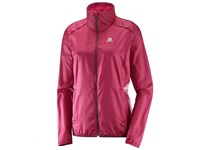 Salomon AGILE WIND JKT W BEET RED