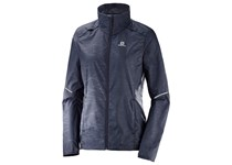 Salomon AGILE WIND JKT W GRAPHITE