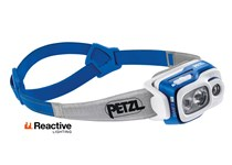 PETZL SWIFT RL 900 LUMENS AZUL
